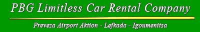 PBG Limitless Car Rental in Preveza Airport